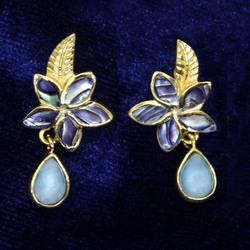 18k Gold Vermeil Larimar Collection